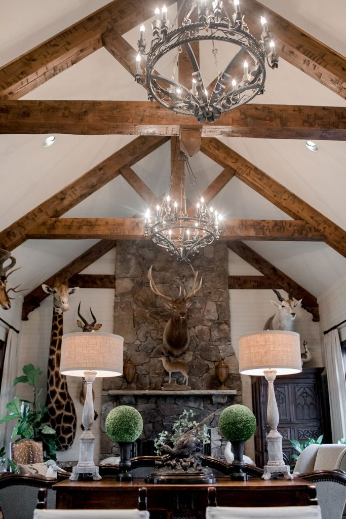 Wood Beams Interior Design