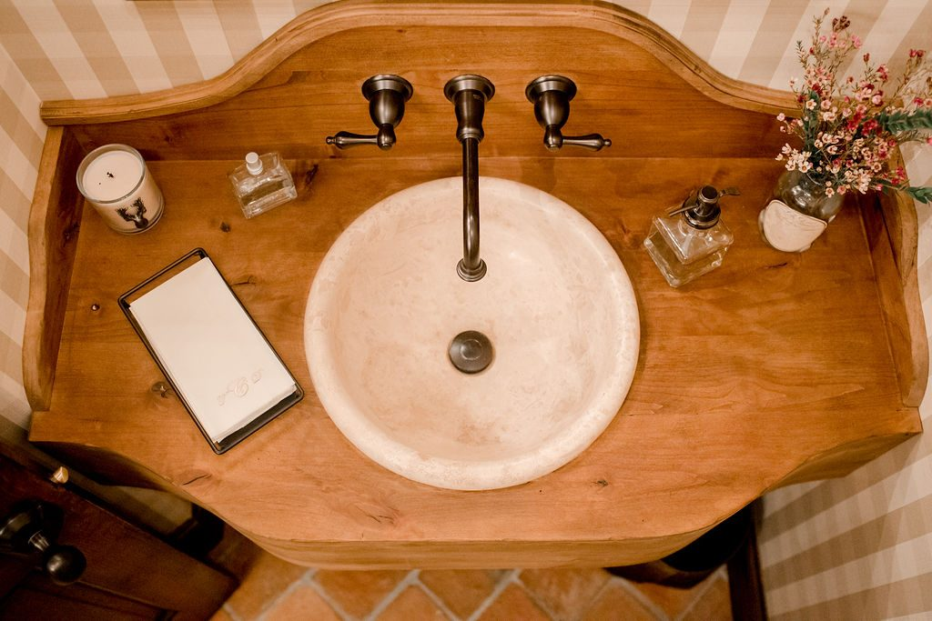 Wood Sink Interior Design